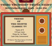 Third Thursday Trivia
